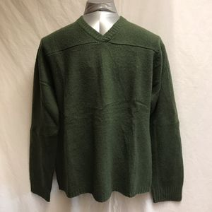 J. Crew V-neck Wool Sweater - Size XLT